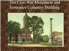 The Civil War Monument and Insurance Company Building