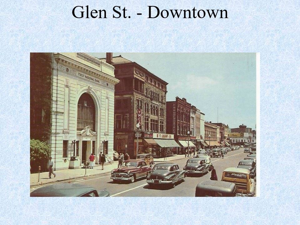 Glen Street Downtown