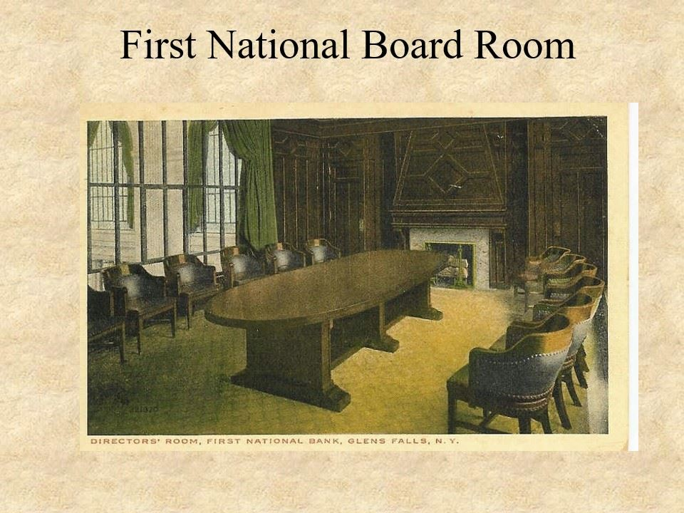 First National Board Room