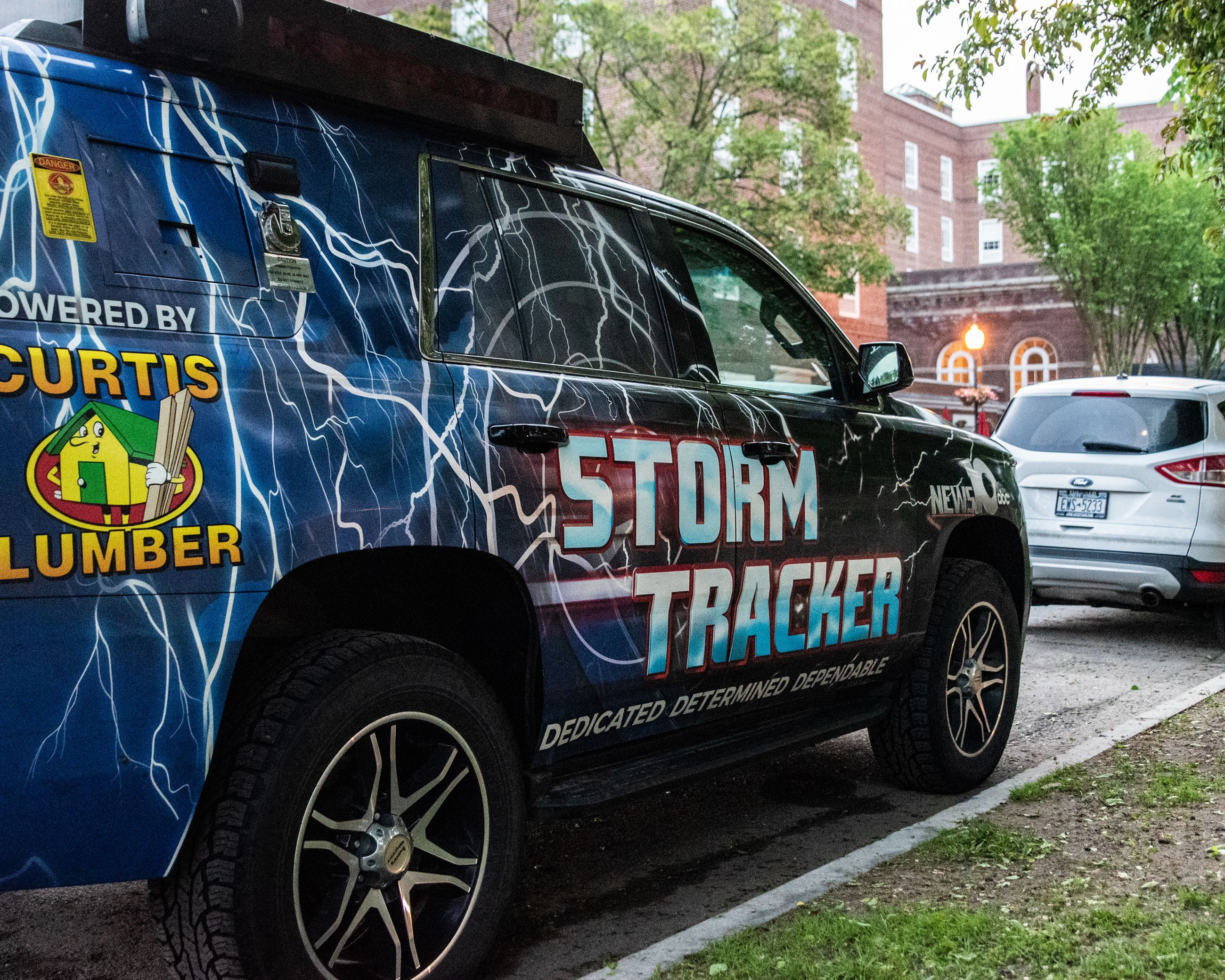 WTEN in the City Stormtracker