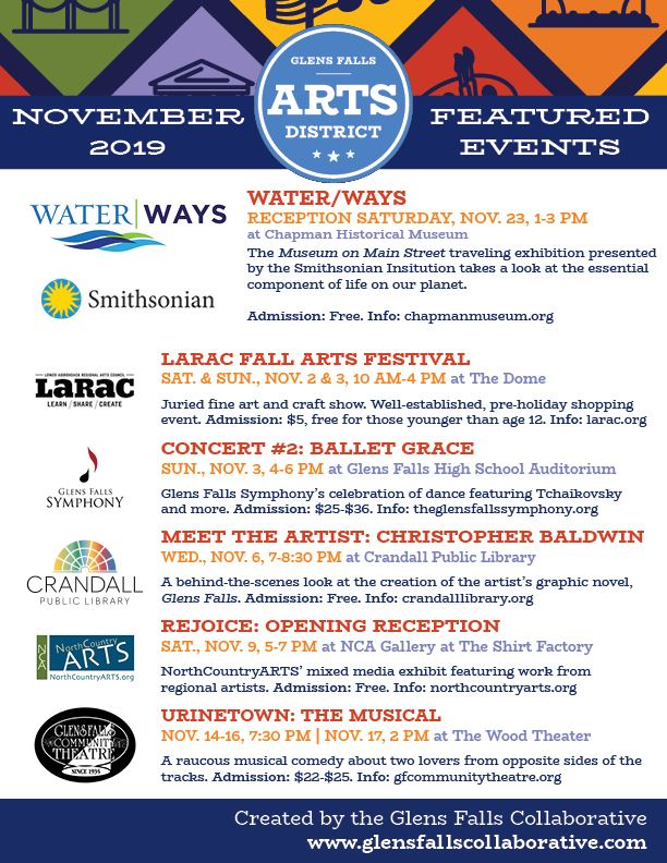 Arts Events November 2019