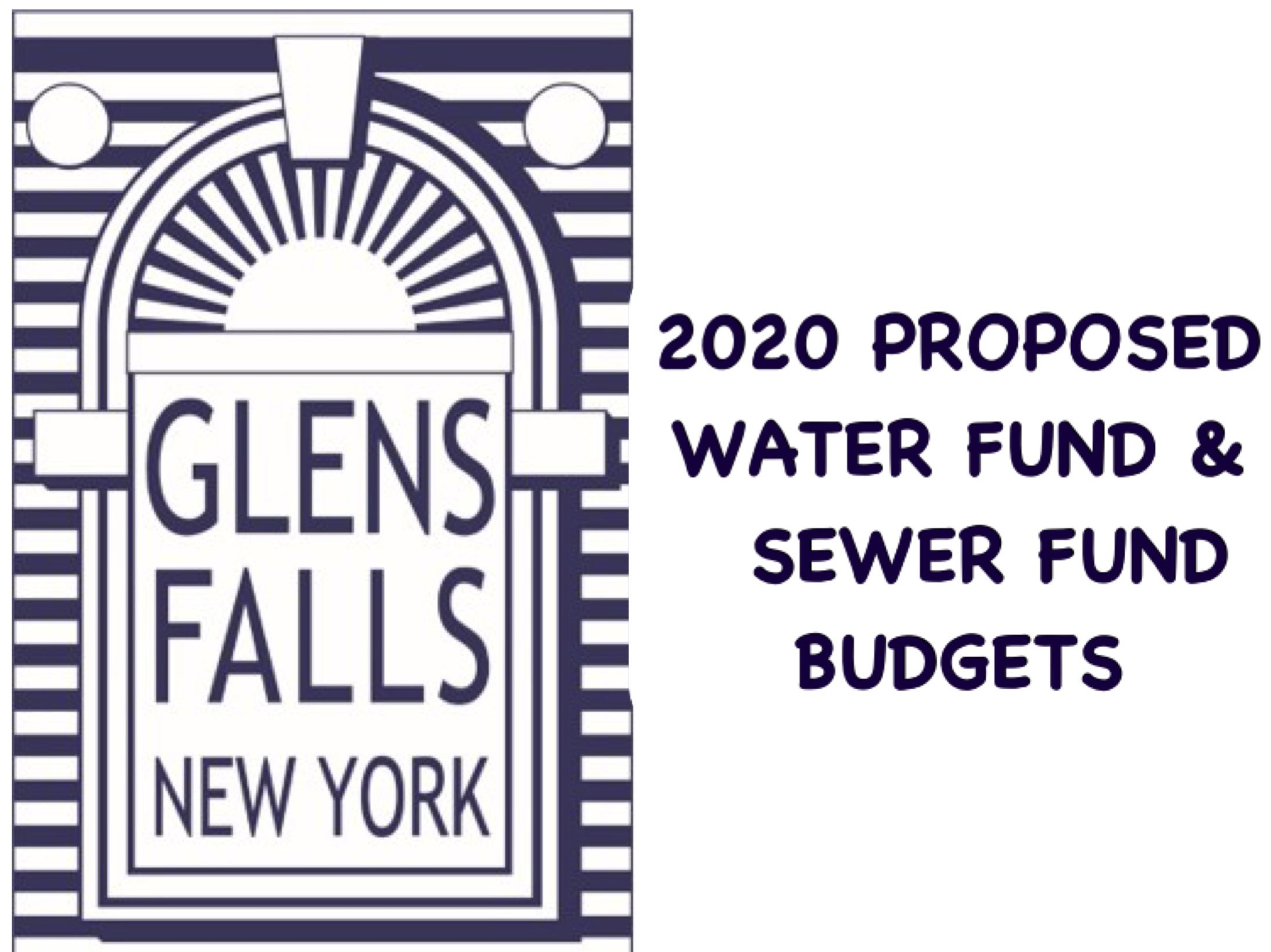 Water and Sewer Fund Budgets 2020