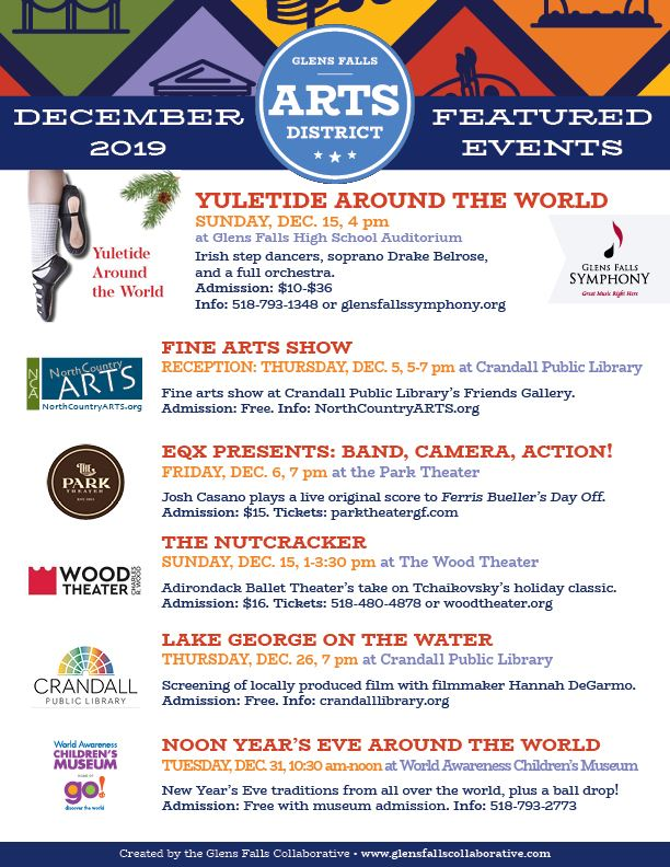 Arts Events December 2019