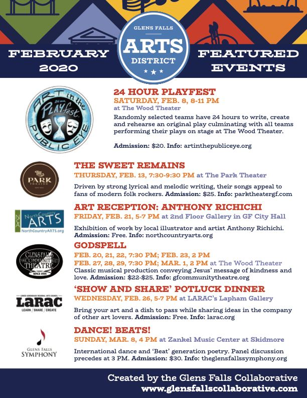 Arts Events February 2020